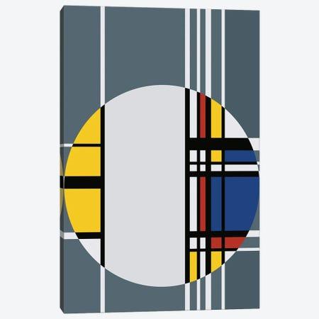 Geometrical Circle Canvas Print #AEZ84} by Angel Estevez Canvas Art