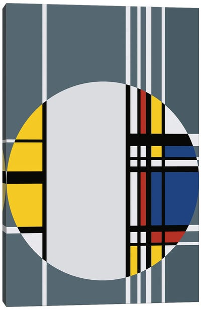 Geometrical Circle Canvas Art Print