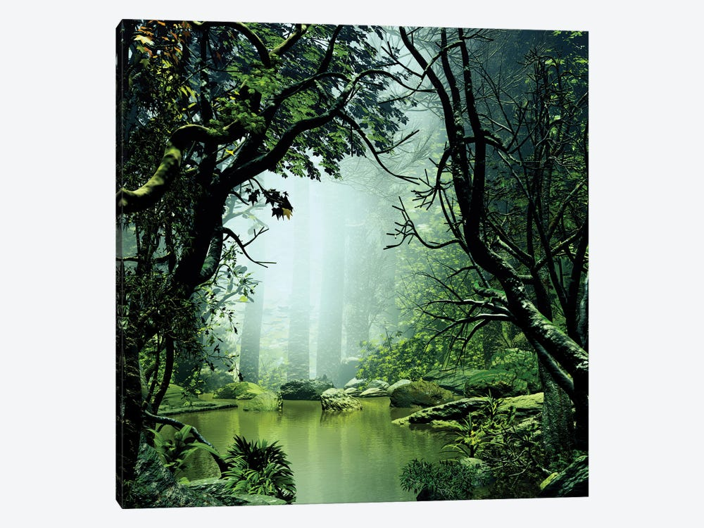Beautiful And Mysterious by Angel Estevez 1-piece Art Print