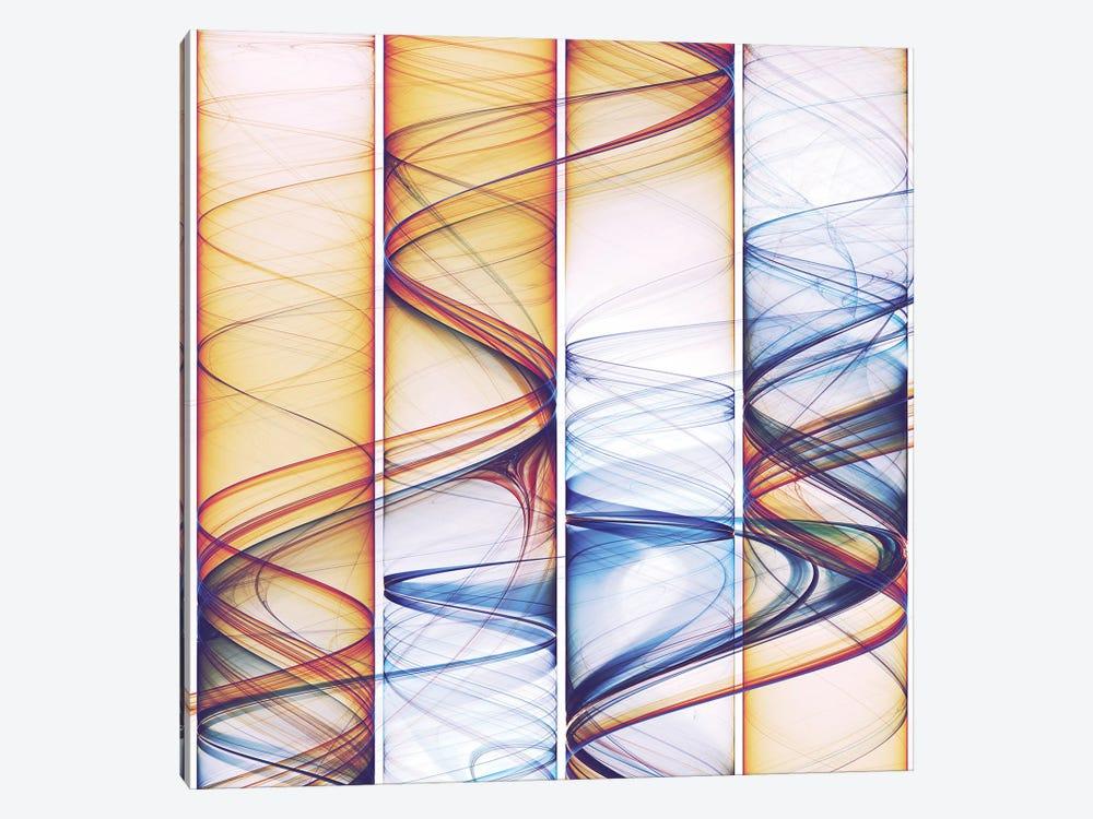 Winding Lines by Angel Estevez 1-piece Canvas Art Print