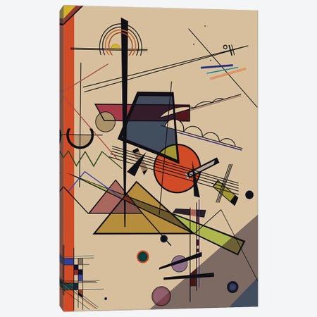 Homage To Kandinsky Canvas Print #AEZ96} by Angel Estevez Art Print