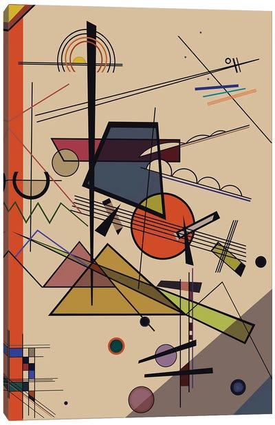 Homage To Kandinsky Canvas Art Print