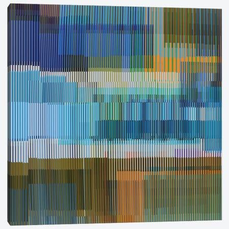 Multiple Colored Lines Canvas Print #AEZ98} by Angel Estevez Canvas Artwork