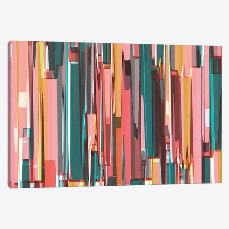 Abstract Metropolis Canvas Print #AEZ99} by Angel Estevez Canvas Artwork