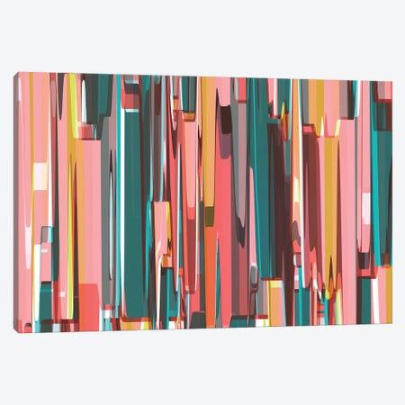 Abstract Metropolis Canvas Print #AEZ99} by Angel Estevez Canvas Artwork