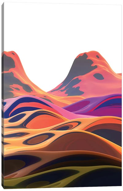 Beautiful Mountains I Canvas Art Print