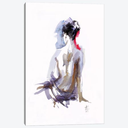 Contemplation Canvas Print #AFD5} by Anne Farrall Doyle Art Print