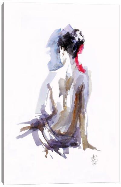 Contemplation Canvas Art Print