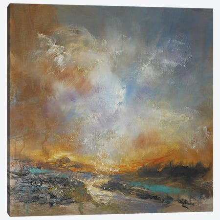 Liquid Gold Canvas Print #AFD6} by Anne Farrall Doyle Canvas Art Print