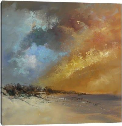 Sun Blaze Canvas Art Print