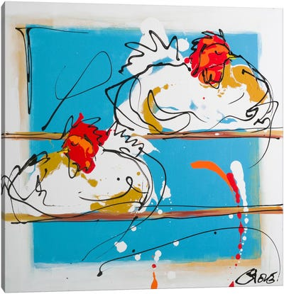 Sleeping And Dreaming Canvas Art Print