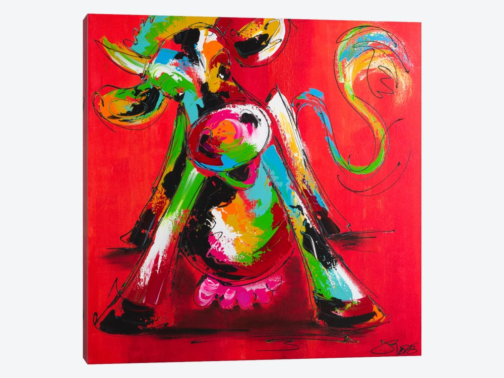 Disco Cow I by Art Fiore 1-piece Art Print