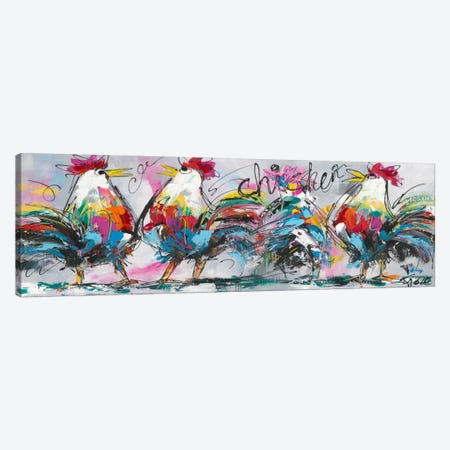 Discussions Canvas Print #AFI7} by Art Fiore Canvas Artwork
