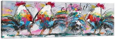 Discussions Canvas Art Print