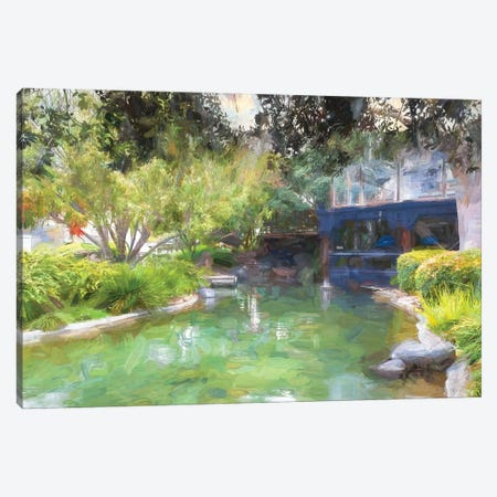 Beautiful Pond Canvas Print #AFK101} by Alison Frank Canvas Artwork