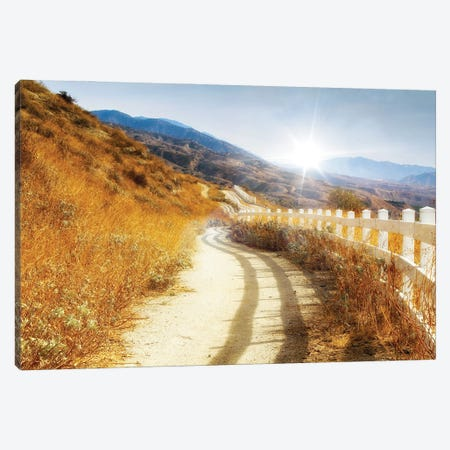 Morning Hike Canvas Print #AFK16} by Alison Frank Canvas Wall Art