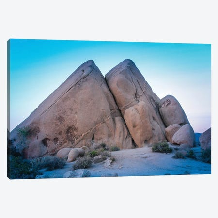 Joshua Tree Pyramids At Live Oak Canvas Print #AFK26} by Alison Frank Art Print