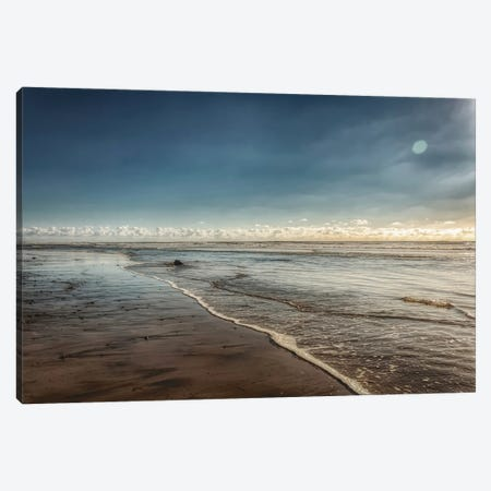 Carlsbad Low Tide Canvas Print #AFK40} by Alison Frank Canvas Art