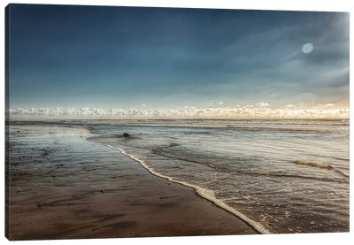 Carlsbad Low Tide Canvas Art Print