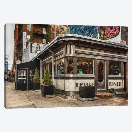 Empire Diner Canvas Print #AFK48} by Alison Frank Canvas Wall Art