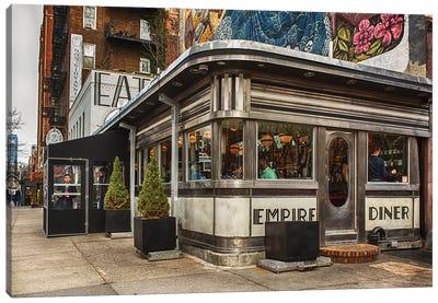 Empire Diner Canvas Art Print