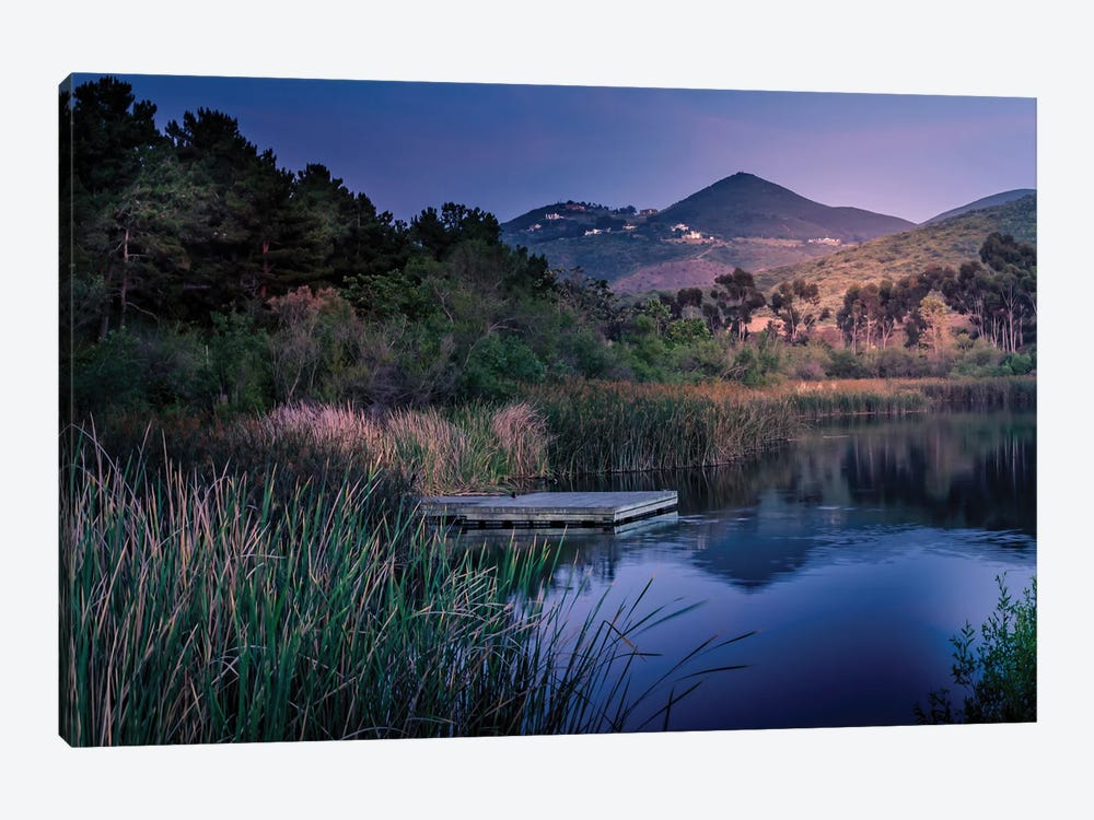 Evening At The Lake by Alison Frank 1-piece Canvas Art