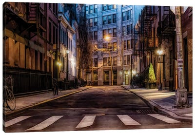 Gay Street Greenwich Village Canvas Art Print