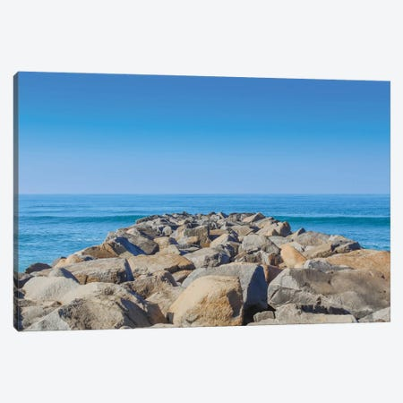 Jetty Canvas Print #AFK59} by Alison Frank Art Print