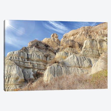 Unstable Cliffs Canvas Print #AFK63} by Alison Frank Canvas Artwork