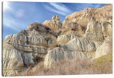 Unstable Cliffs Canvas Art Print