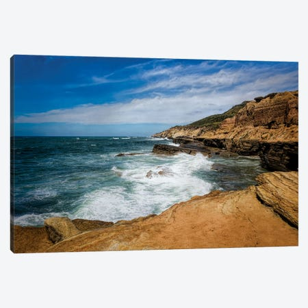 At The Edge Of The Cliffs Canvas Print #AFK64} by Alison Frank Canvas Print