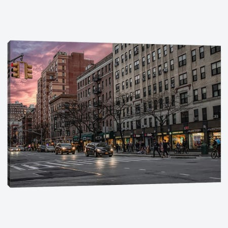 The Gem Hotel Canvas Print #AFK77} by Alison Frank Canvas Art