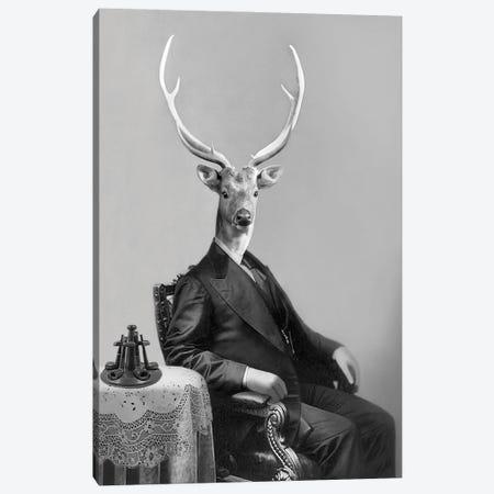 Big Buck Canvas Print #AFN12} by Animal Fancy Canvas Artwork