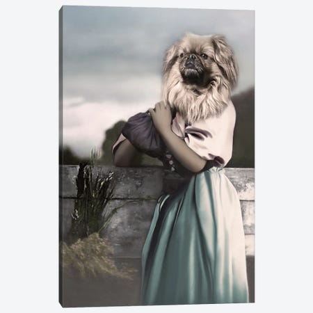 Aditi Canvas Print #AFN1} by Animal Fancy Canvas Wall Art