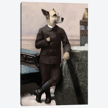 Duke Canvas Print #AFN30} by Animal Fancy Canvas Art