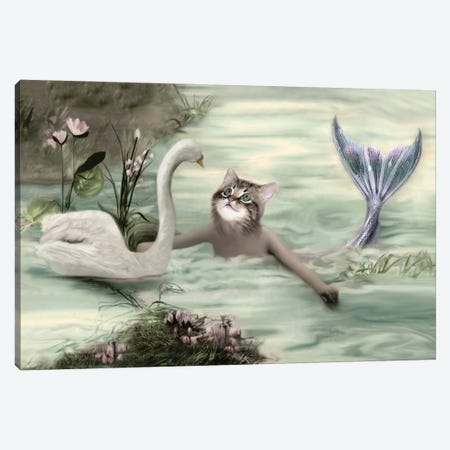 Ianthe Canvas Print #AFN39} by Animal Fancy Canvas Wall Art