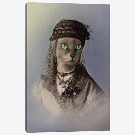 Amara Canvas Print #AFN3} by Animal Fancy Canvas Artwork