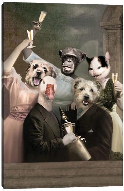 Its A Party Canvas Art Print