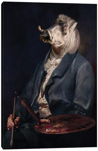 Andy Warthog Canvas Art Print