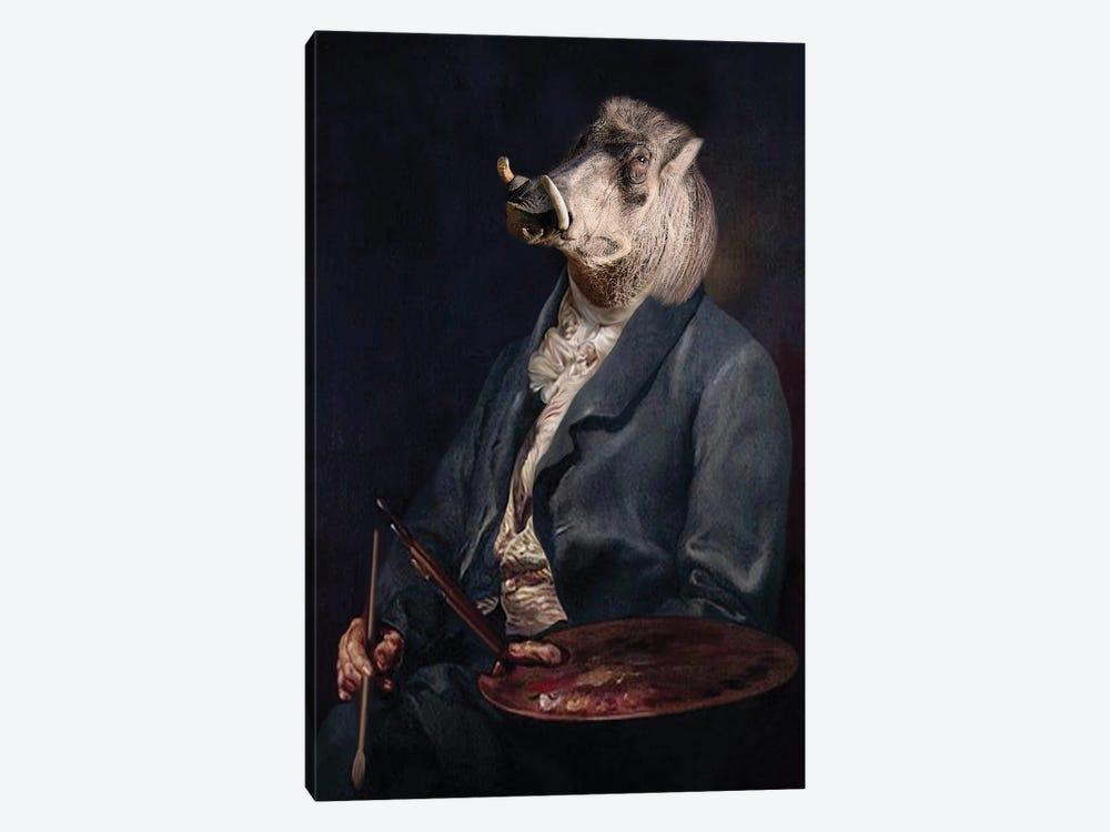 Andy Warthog by Animal Fancy 1-piece Art Print