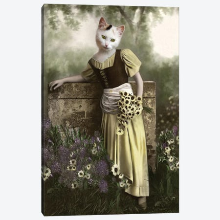 Millicent Canvas Print #AFN55} by Animal Fancy Canvas Print