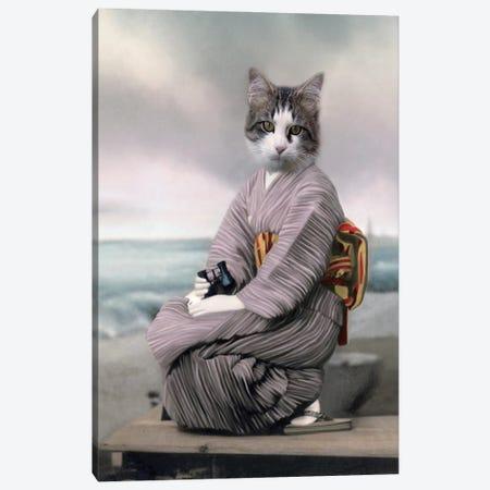 Neko Chan Canvas Print #AFN59} by Animal Fancy Canvas Artwork