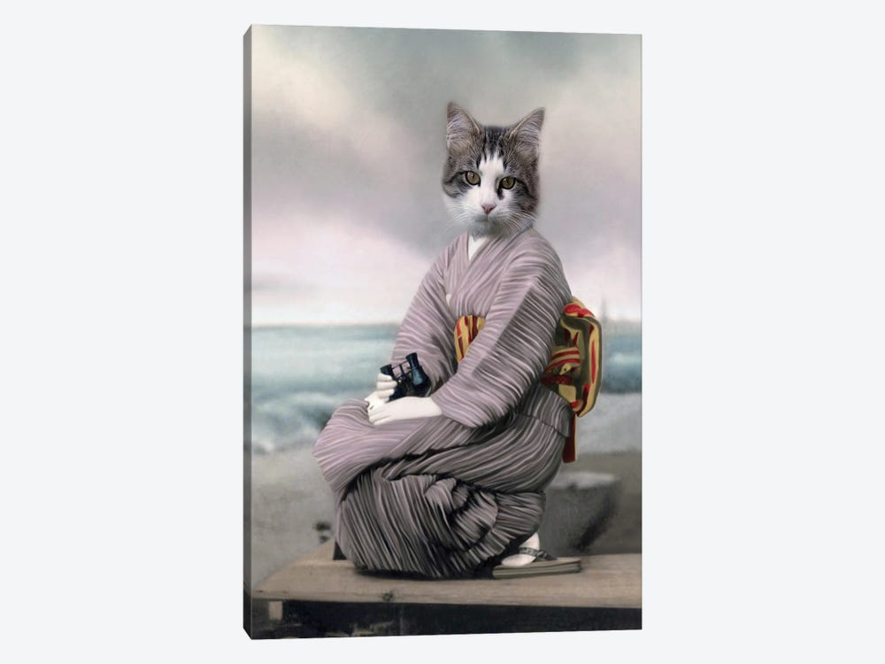 Neko Chan by Animal Fancy 1-piece Art Print