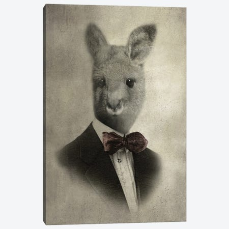 Sir Laughsalot Canvas Print #AFN77} by Animal Fancy Canvas Print