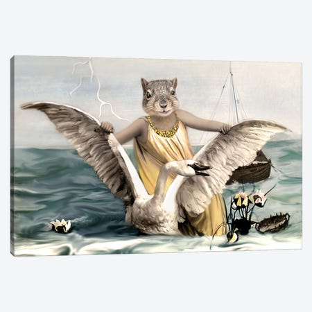 Svanhilda Canvas Print #AFN80} by Animal Fancy Canvas Art Print
