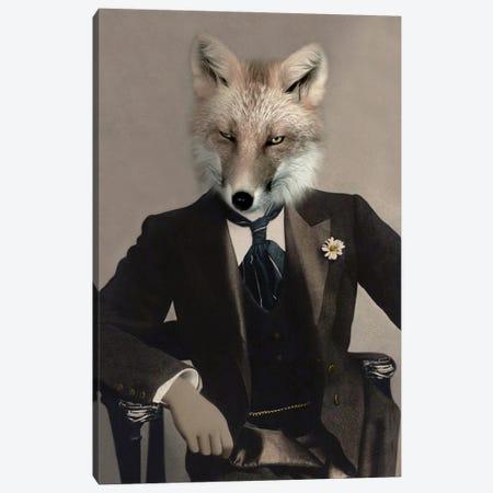Talbot Fox Canvas Print #AFN82} by Animal Fancy Canvas Art Print