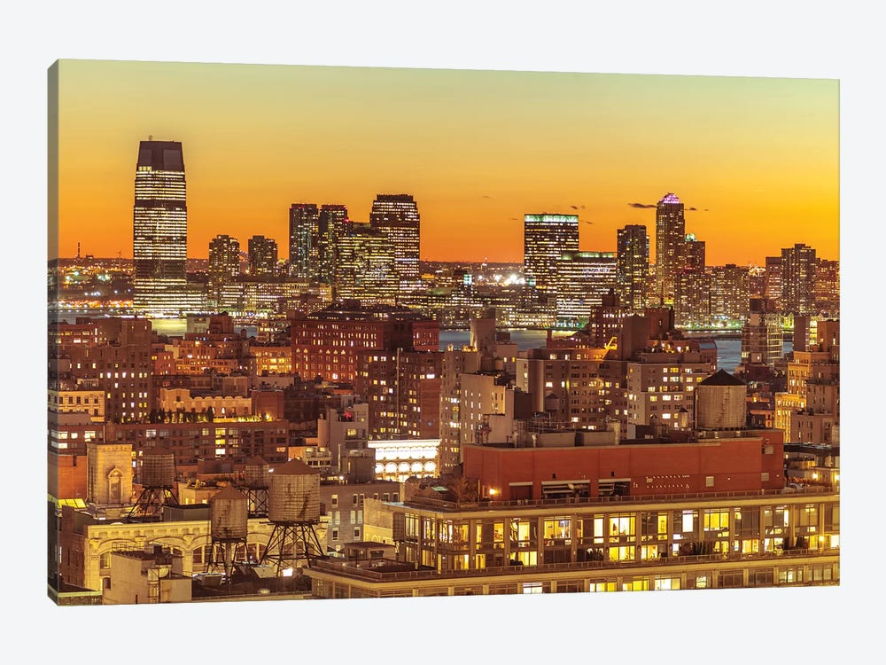 New York I 1-piece Canvas Art