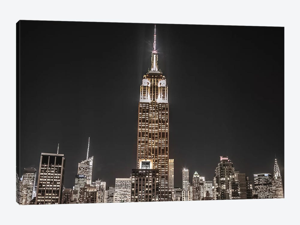 New York II by Assaf Frank 1-piece Canvas Artwork
