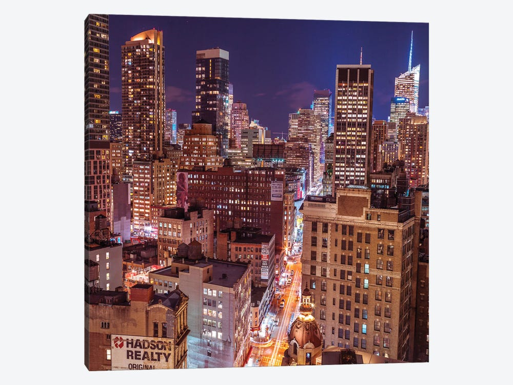 New York III by Assaf Frank 1-piece Canvas Art Print