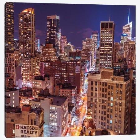 New York III Canvas Print #AFR111} by Assaf Frank Canvas Art